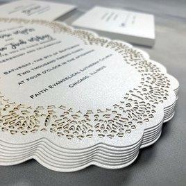 Sweet Scallops - Laser Cut Invitation