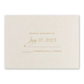 Wedding Reception and Information Cards: Fairy Tale Gates Reception Card