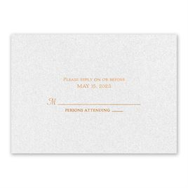 Blooming Beauty - Copper - Foil Response Card