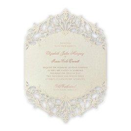 Majestic - Rose Gold - Laser Cut Invitation