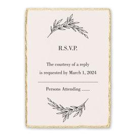 Wedding Response Cards: Enchanted Response Card