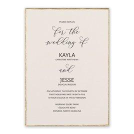 Wedding Invitations: Adorned Invitation