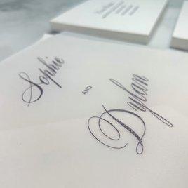 Sheer Sophistication - Vellum Invitation