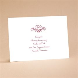 """It""""s Up To You - Reception Card"""