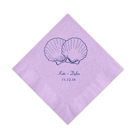 Lavender Cocktail Napkin