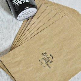 Lovebirds Custom Stamp