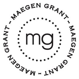 Personalized Stamps: Maegen Custom Stamp