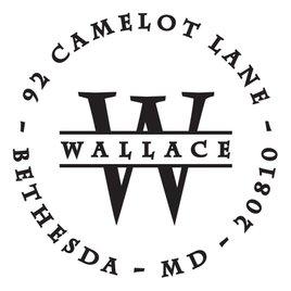 Wallace Address Stamp