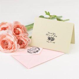 Floral Custom Stamp