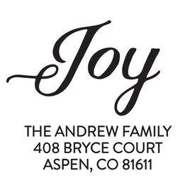JOY Address Stamp