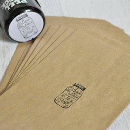 Mason Jar Custom Stamp