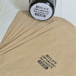 Flourish Frame Custom Stamp