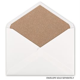 Rose Gold Glitter -Envelope Liner