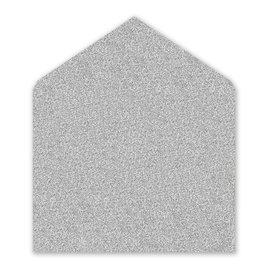Wedding Envelope Liners: Silver Glitter Envelope Liner