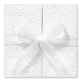 Fancy Wedding Invitations: Ties That Bind Invitation