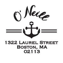Nautical Address Stamp