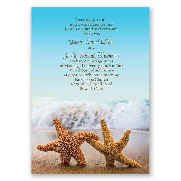 Starfish Invitation