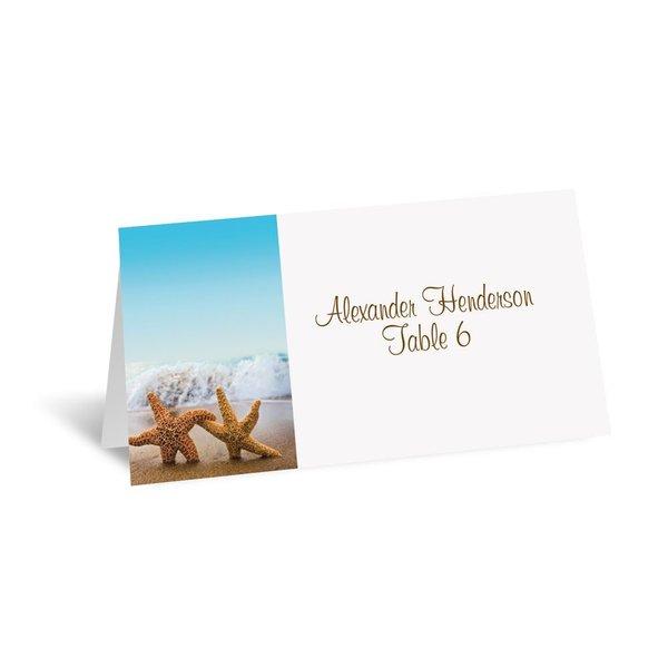 Starfish Escort Card