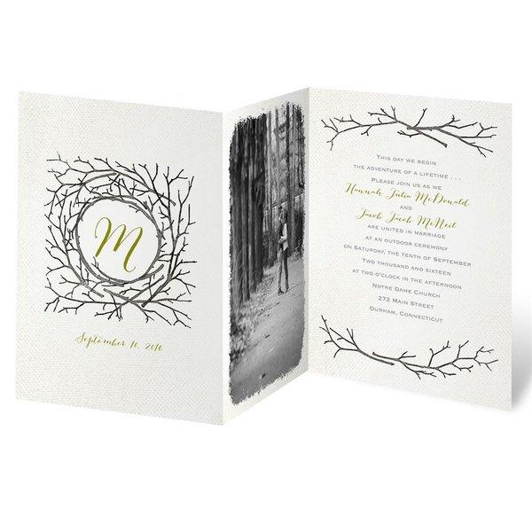 Beneath the Branches Invitation