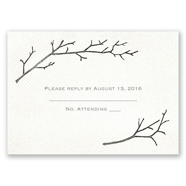 Beneath the Branches Response Card