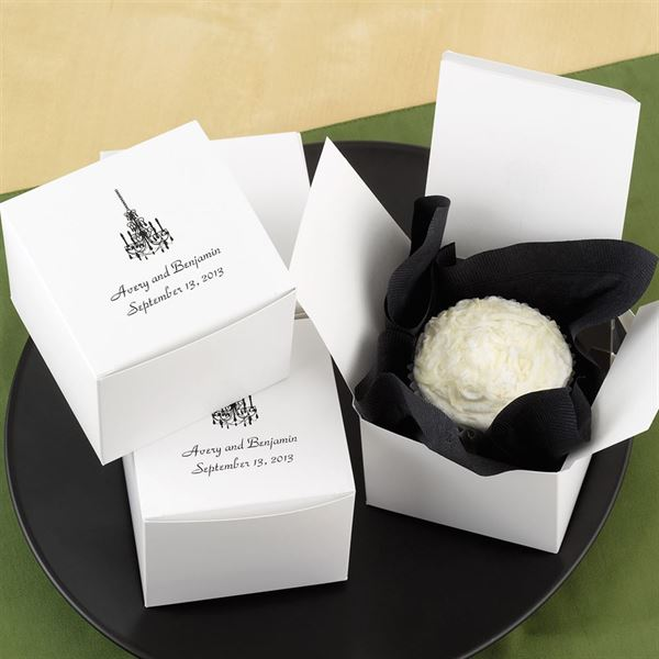 Personalized Cake Box Top Personalization