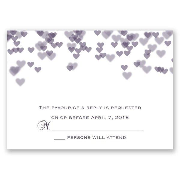 Shades of Love Response Card