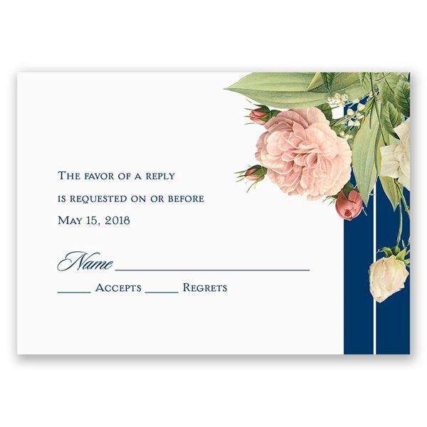 Brilliant Blooms Response Card