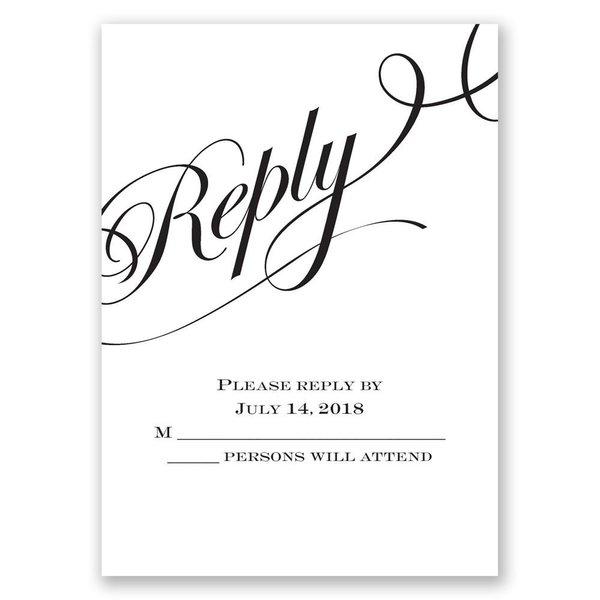 Special Event Response Card