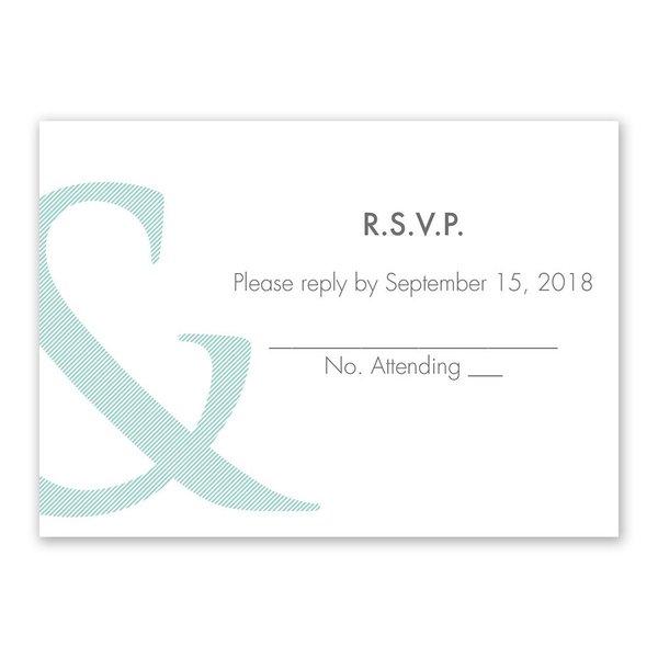 Contemporary Couple Response Card