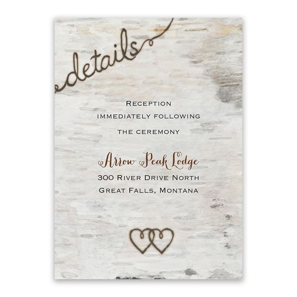 Love for Infinity Reception Card
