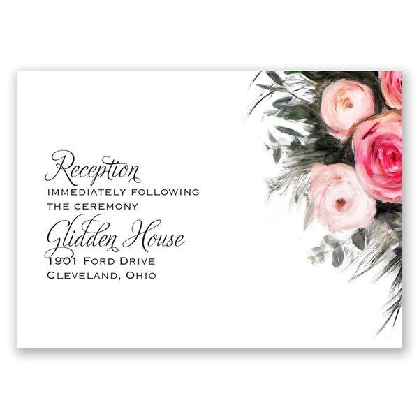 Ethereal Garden Reception Card