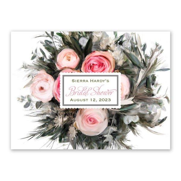 Ethereal Garden Petite Bridal Shower Invitation