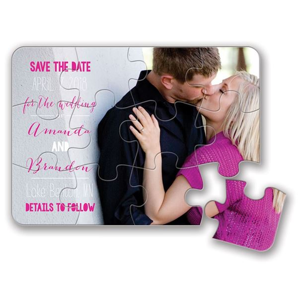 Complete Me Save the Date Puzzle