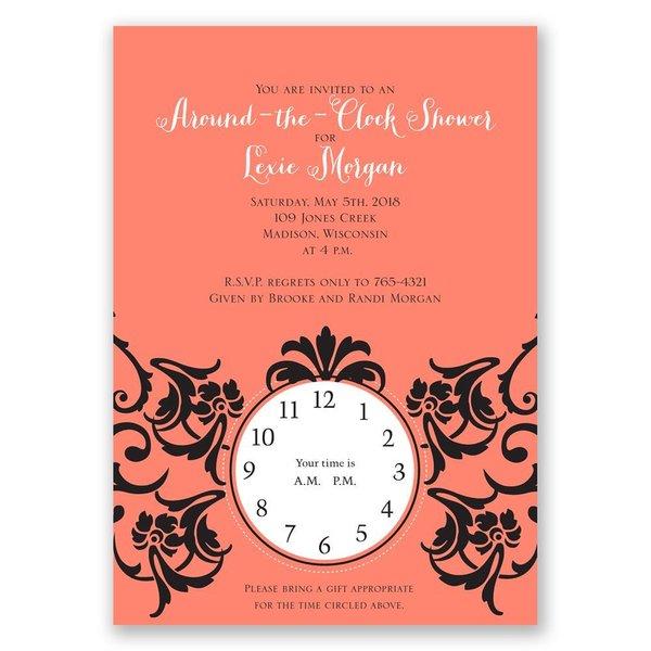 Antique Dream Bridal Shower Invitation