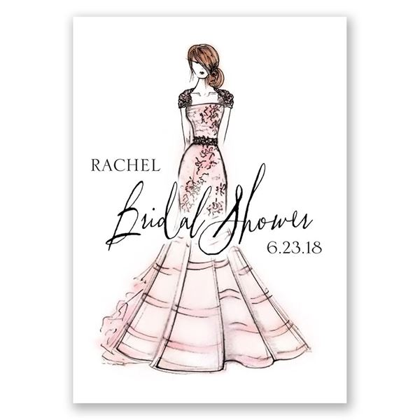 What a Beauty Bridal Shower Invitation