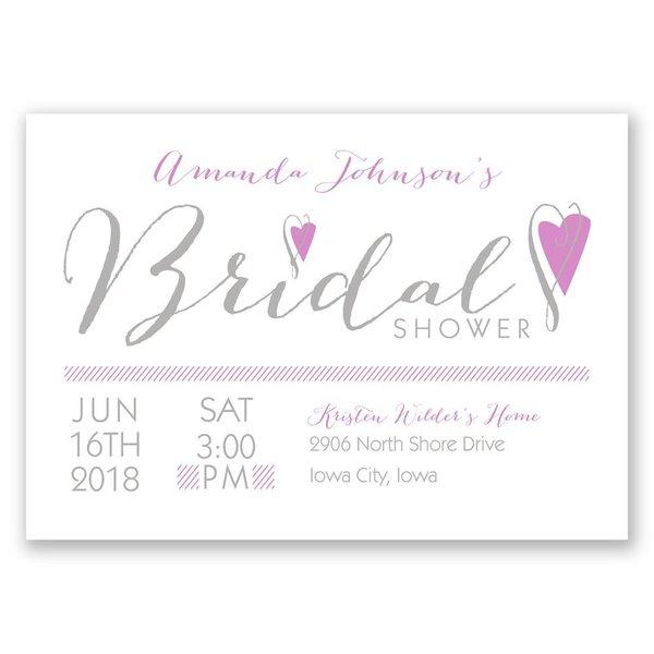 All Heart Bridal Shower Invitation