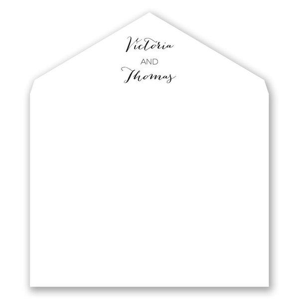 Golden Glow Designer Envelope Liner