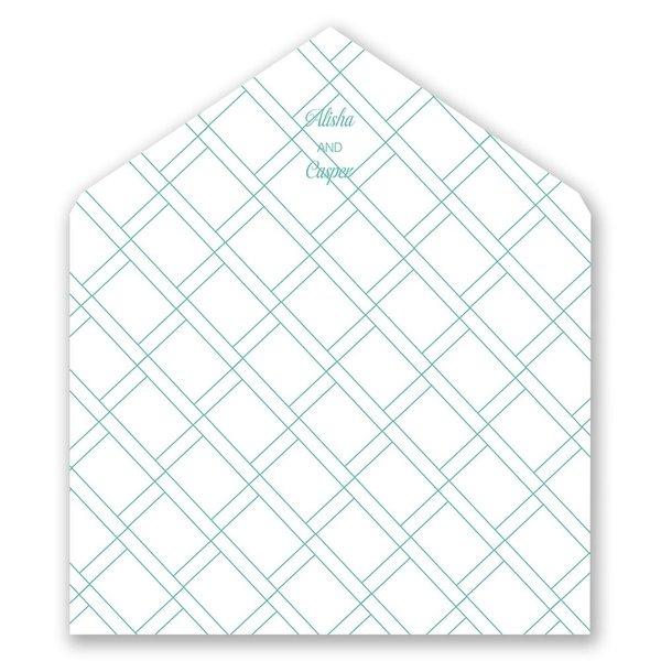 Miami Breeze Designer Envelope Liner