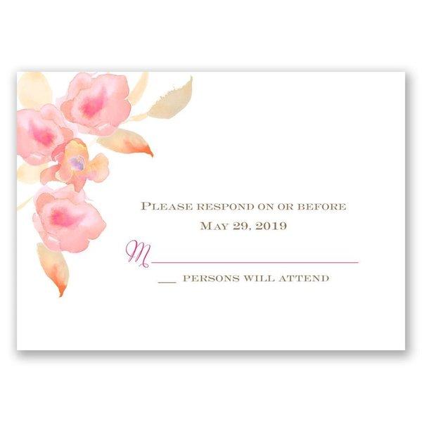 English Rose Response Card