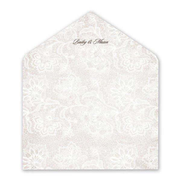 Lace Lining Envelope Liner