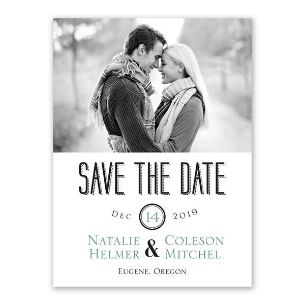 A Wedding Celebration Save the Date Card