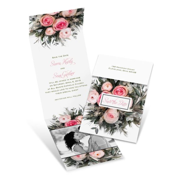 Ethereal Garden Fold Up Save the Date