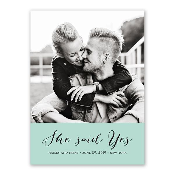 True Vision Save the Date Card