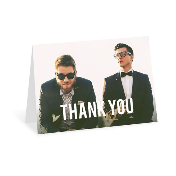 Be Bold Thank You Card