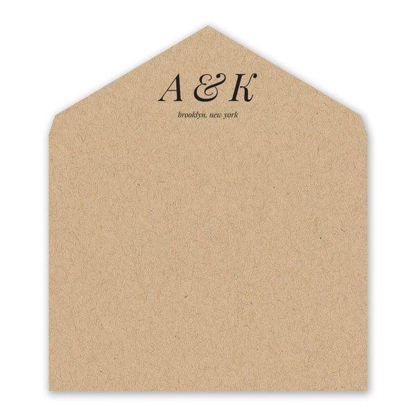 Naturally Chic Designer Envelope Liner