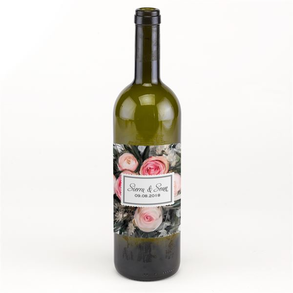 Ethereal Garden Wine Bottle Label
