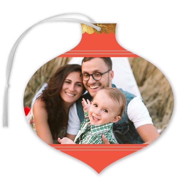 Ornamental Foil Holiday Card