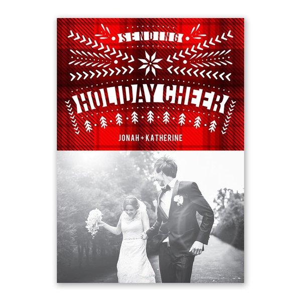 Northwoods Winter Holiday Card