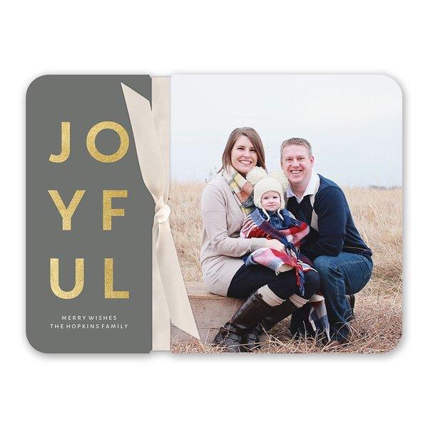 Joyful Story Foil Holiday Flip Book