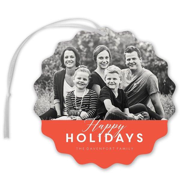 Modern Look Holiday Card